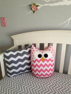 Project Nursery - Pink and Gray Girl Nursery Stuffed Animals
