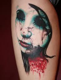 beautiful zombie tattoo - Google Search