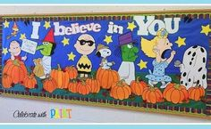 Another 8ftx4ft #BulletinBoard spread! All items are individually #handpainted, not printed. LIKE #CelebrateWithPaint on Facebook. 🎨🖌🎃 . . #Art #Paint #Painter #Maker #Handmade #WallArt #School #SchoolTime #TeacherLife #TeacherTime #TeacherGifts #Classroom  #ClassroomDecorations #Fall #Pumpkin #GreatPumpkin #CharlieBrown #Snoopy #Peanuts #BackToSchool #FirstDayOfSchool #SmallBusiness