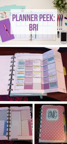 Take a tour of Bri's Planner!