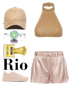 Day In Rio by pstm on Polyvore featuring polyvore, fashion, style, SHE MADE ME, Jil Sander, New Era, Moschino and clothing