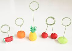 Craft It - Fruit Photo Holders