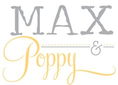 Max And Poppy: The Blog logo