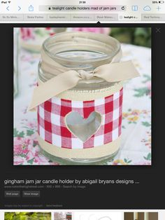 Tea light lantern I didn't make this but you can make them easily out of jam jars!!