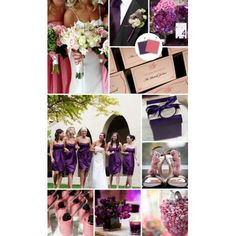 Wedding Colours: Classic Wedding Colour Palettes We Love Eggplant + Dusty Rose – The Knot