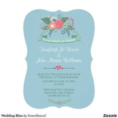 Wedding Bliss Card