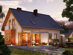 gotowy projekt domu Enklawa #dom #art #design #fashion  #projektydomów #projekty #home #houseplan