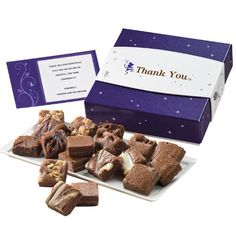 Fairytale Brownies Thank You Morsel 18 Gift Box