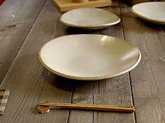 スタジオm(studiom')SOBOKAI(ソボカイ)シロカラツ[白唐津]9寸平鉢|和食器|お皿|キッチン|【sf】