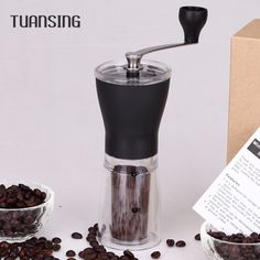 Tuansing Manual Ceramic Coffee Grinder Washable ABS Ceramic Core Stainless Steel Home Kitchen Mini Manual Hand Coffee Grinder | Price: ฿687.00 | Brand: Unbranded/Generic | From: Home Appliances 2017 - รวมสินค้า เครื่องใช้ไฟฟ้าในบ้าน และ เครื่องใช้ไฟฟ้าในครัว ราคาพิเศษ | See info: http://www.home-appliances-2017.com/product/11751/tuansing-manual-ceramic-coffee-grinder-washable-abs-ceramic-core-stainless-steel-home-kitchen-mini-manual-hand-coffee-grinder
