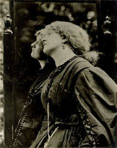 "Photograph of Pre-Raphaelite model, Fanny Cornforth.  Fanny's reign as the sole muse of  Rossetti  was very short.  She appeared first as the fallen woman in ""Found""."