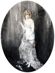 Louis Icart 'Bedtime'. We love art at Renaissance Fine Jewelry. Celebrate all  of life's moments www.vermontjewel.com. We treasure the knowledge we gain from the gift of artistic legends.