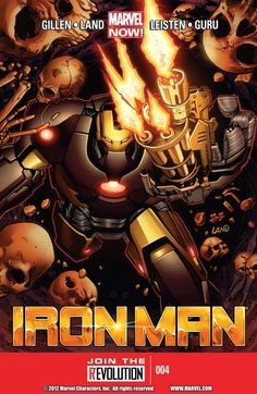 Iron Man Vol. 5 #4  Marvel NOW! Tony's hunt for Extremis takes him to the ancient Catacombs of Paris where absolute horror awaits! Things man was not meant to know Vs. the man who wants to know everything. Plus, the new Iron Man heavy-duty battle-suit debuts.