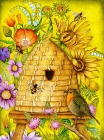 "Holly's latest....""Honey Bee House"""