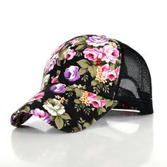 2015 New Baseball Hats For Women Sunshade Gorra Vintage Floral Rose Bone Snapback Caps Hip hopSummer Gorro Flower-in Baseball Caps from Women's Clothing & Accessories on Aliexpress.com | Alibaba Group