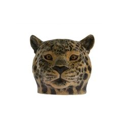 Quail Ceramics Leopard Egg Cup ($17) ❤ liked on Polyvore featuring home, kitchen & dining, dinnerware and leopard dinnerware