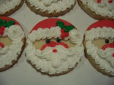 christmas cookie decorating ideas christmas cookies 001 - Round Christmas Cookie Decorating Ideas