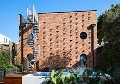Austin Maynard builds recycled brick house on site of Melbourne garage