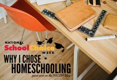 "National School Choice Week: Why I Chose Homeschooling - Guest Post on the HSLDA Blog | ""'Who cares most about your children: you, or your children's teachers?' I responded, 'I do . . . because I'm their parent, and no one could love them as much as I do.'"""