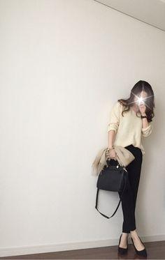 【coordinate】titivateのコートで色違い双子コーデ の画像|Umy's プチプラmixで大人のキレイめファッション