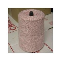 bakers twine: pretty and low cost.