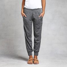 Your weekend sweatpants have just been upgraded. The Isaac Zip Pant is the perfect bridge between casual and cool. www.zady.com | via @Zady #fashion