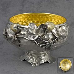 Pairpoint Quadruple Plate Coffee Service | Centerpiece Bowl by Wilcox Silver Plate Co., Silverplate Figural ...