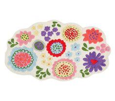 Margherita Missoni for Pottery Barn Kids Garden Floral Rug
