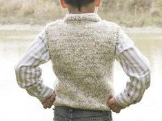 Lola y Lana Men Sweater, Vest, Turtle Neck, Crochet, Boys, Sweaters, Fashion, Men's Waistcoat, Sweater Knitting Patterns