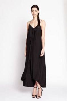 Simple yet elegant maxi with a front gold bar trim. Rayon Size-S,M,L Fantasy Jewelry, Stitch, Formal Dresses, Casual, Pink, Black, Dress Long, Archive, Fashion