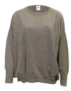 6214-1032 / Colour: Silver gray / Brand: herzensangelegenheit / Size: 44, 46 / ***100% Cashmere