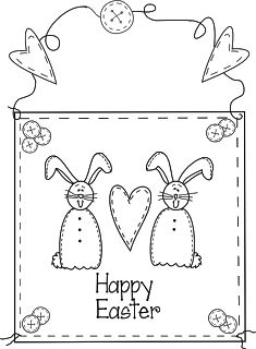 Easter Digital Stamp Freebies (Beyond the Fringe)