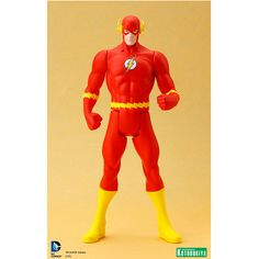 JMD Retail - Kotobukiya ArtFX+ Super Powers Flash Statue