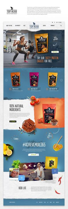 Healthy food & Product web design! = = = FREE CONSULTATION! Get similar web design service @ http://smallstereo.com