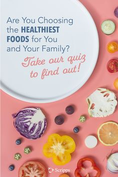 QUIZ: What's your food IQ? Choosing healthy foods for you and your family is an important part of healthy living.  Take our quiz to find out if you're a healthy foods expert. Healthy Foods, Healthy Recipes, Mindful Eating, Primary Care, Health Motivation, Eating Well, Natural Remedies, Health Tips, How To Find Out