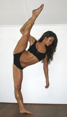 strong! I want to be able to do this!