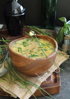 Sweet Corn Egg Drop Soup