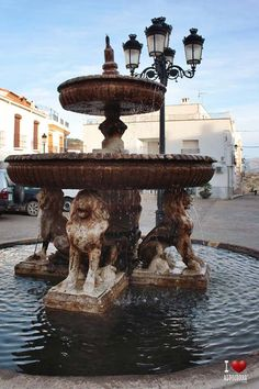 Fuente de Paterna del Río Fountain, Outdoor Decor, Home Decor, Fonts, Decoration Home, Room Decor, Water Well, Water Fountains, Interior Decorating