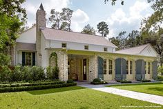 437 Louisiana #home... mixing Acadian, Spanish and plantation architectural elements. by Dillion Kyle