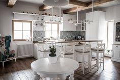 E-commerce / web - design / development Design Development, House In The Woods, Ideas, Table, Furniture, Home Decor, Style Rustique, Kitchen Wood, Poland