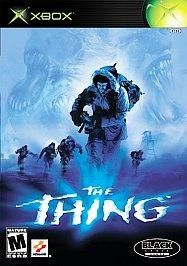 The Thing XBOX Game, Rated M, Manual and Shipping Included