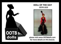 06.19.14 - Today, we are previewing doll OOTB 1019, which will be debut at the upcoming NBDCC Nashville.  When OOTB Dolls had an unique idea for an AA doll hair style, he personally spearheaded this project, and the final result makes us realize that there is something new  exciting to share with other fellow collectors. That was the moment when OOTB DOLLS is born!  Please visit our website for more details on this beauty! www.ootbdolls.com
