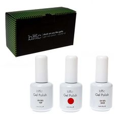 BMC UV LED Gel Nail Art Polish 3pc Kit One Color Red Top Base Coat Manicure Set b.m.c http://www.amazon.com/dp/B00DWKRHNS/ref=cm_sw_r_pi_dp_F2KGvb1RM18DV