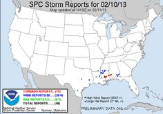 At least 8 people were killed after severe thunderstorms swept through the southern United States on April 13 and producing flash flooding and at least 22 tornadoes in Texas, Lousiana, Mississippi and Alabama. Two children were killed in An.