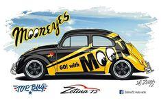 Vw Dune Buggy, Split Screen, Old Bug, Hot Vw, Sports Team Logos, Vw Cars, Vw T1, Thing 1, Car Wrap
