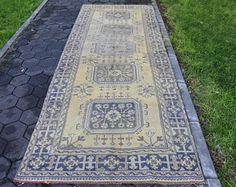 Runner Area Rug Vintage Anatolian 4 2 X 11 3 Feet Free Shipping Floor