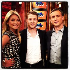 Kelly, Dan Abrams, and Ben McKenzie from Southland!