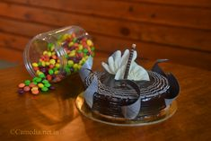 Happy as a unicorn eating cake on a rainbow #photography #cake #yummy #productphotography