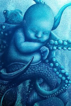 Aqua Baby by XIthLion-I