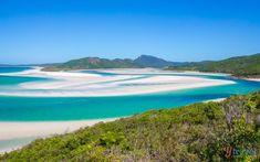 Hill Inlet - Whitehaven Beach, Queensland, Australia